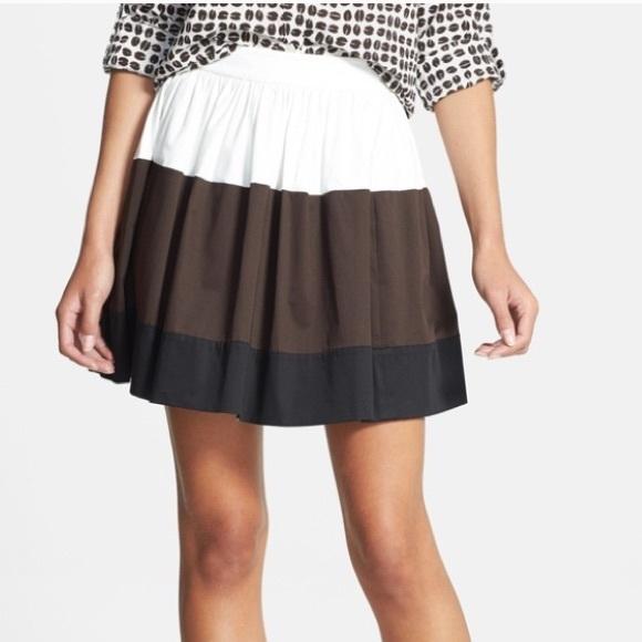 kate spade Dresses & Skirts - KATE SPADE Colorblock Coreen Skirt Striped